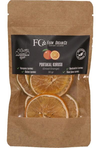 Farm Organico Portakal Kurusu - Kurutulmuş Portakal 30 gr