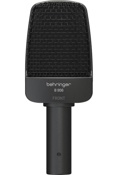 Behringer B 906 Supercardioid Dinamik Vokal Enstrüman ve Gitar Amfi Mikrofonu - Siyah