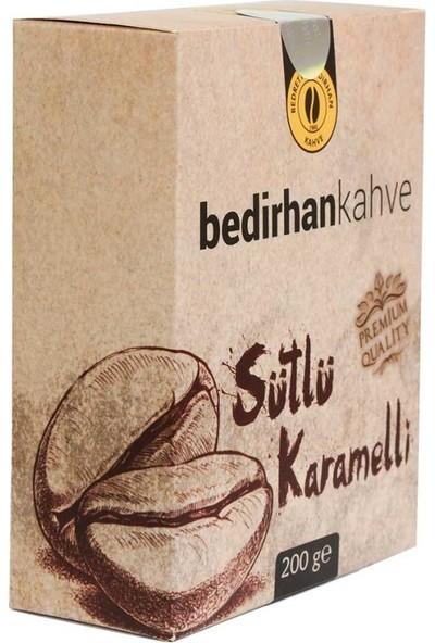 Bedirhan Kahve Sütlü Karamelli Türk Kahvesi 200 gr