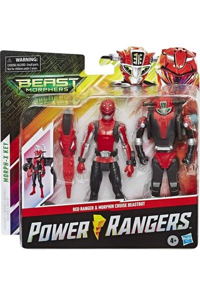 Hasbro Power Rangers Red Ranger And Morphin Cruise Beastbot E7270-E7324