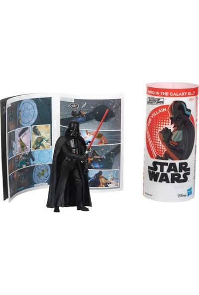 Hasbro Star Wars Galaxy Of Adventures Figür Darth Vader E5648-E5649