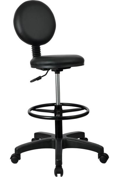 Bürocci Bar Sandalyesi - Siyah - 2010U0101