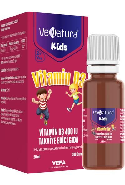 Vefa Venatura Vitamin Kids D3 400 Iu