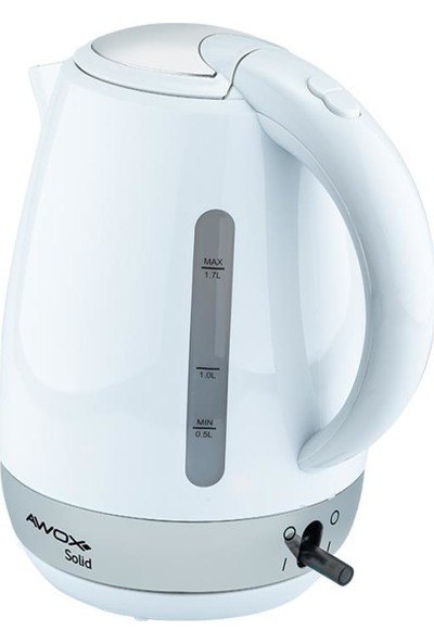 Awox Solid Kettle Beyaz