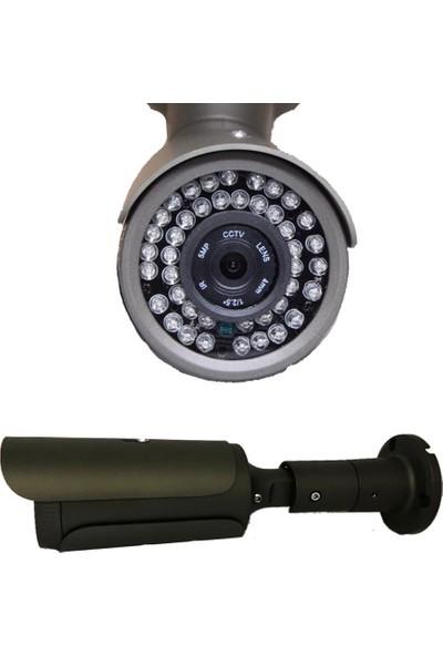 QROMAX PRO 5042 2' li 5 Megapiksel SONY LENS 1080P Metal Kasa Güvenlik Kamerası Sistemi