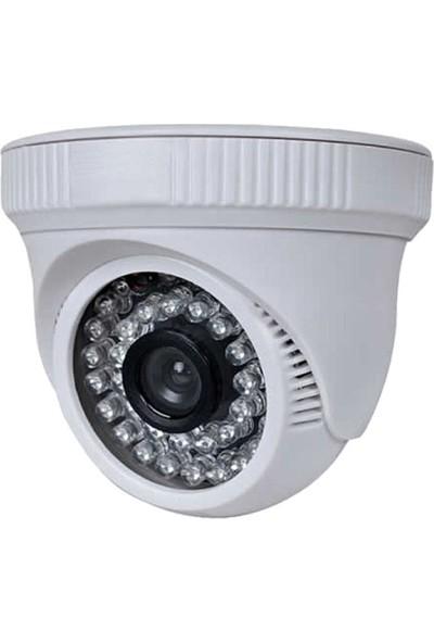 QROMAX PRO D236B 8' li 5 MegaPiksel SONY LENS 1080P Plastik Kasa Güvenlik Kamerası Sistemi