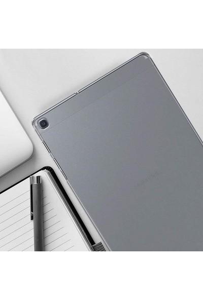 "Engo Samsung Galaxy Tab A SM-T290 SM-T297 8"" İnce Silikon Arka Kapak Kılıf Şeffaf"