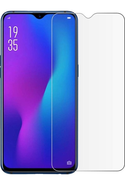 Kılıfist Oppo A5S AX7 Zore Maxi Glass Temperli Cam Ekran Koruyucu