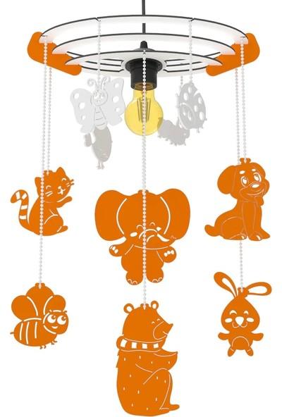 Woodact Bellus Dekoratif Çocuk Odası Avize