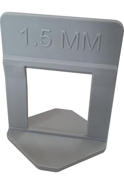 Kristal Seviye Klipsi Uzun 1,5 mm 250'li
