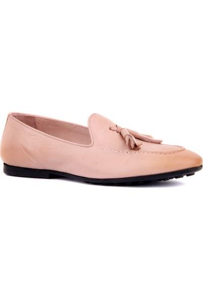 Sail Laker's Pudra Deri Erkek Günlük Ayakkabı