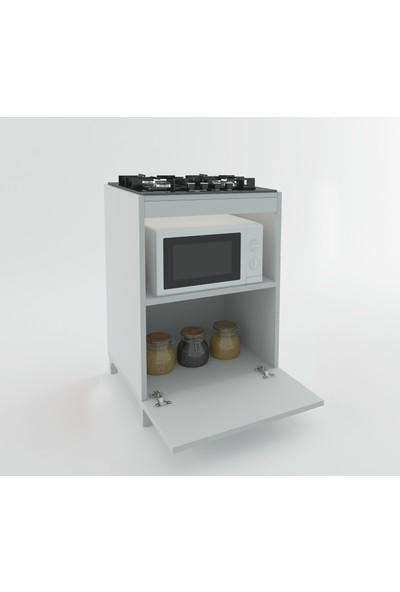 Kenzlife Ocak Dolabı Demi Byz 85*60*57 Mutfak Modül Mini Fırın Ankastre Ocak İçin