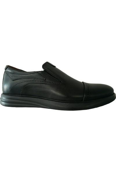 Forex Anatomik 2917 Günlük Siyah Deri Erkek Ayakkabı