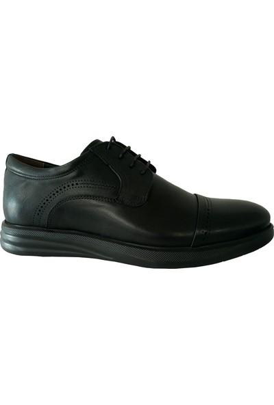 Forex Anatomik 2918 Günlük Siyah Deri Erkek Ayakkabı