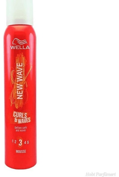 Wella New Wave Curl Waves Bukle Köpük 200 ml