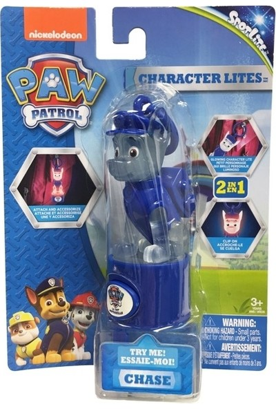 Character Lite - Paw Patrol Chase TF37831