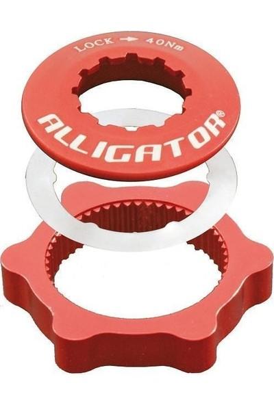 Alligator Rotor Bağlantı Adaptörü Kırmızı