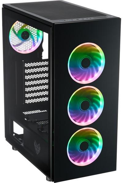 FSP CMT340 Tempered Glass ATX Mid-Tower Oyuncu Bilgisayar Kasası