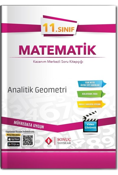Sonuç Yayınları 11.Sınıf Analitik Geometri 2020-2021