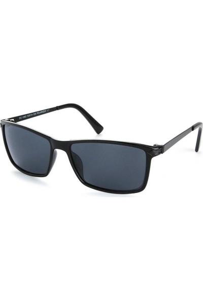 Di Caprio Siyah Polarize Erkek Güneş Gözlüğü Gözlük DC1082