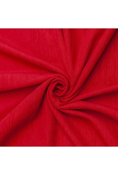 Latuda Şönil Çift Taraflı Kaymaz Çekyat Örtüsü ve Koltuk Şalı Kırmızı