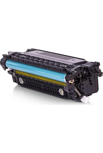 Mastek Hp Ce402/Ce252A/507A/504A Cp3525/Cm3530/M551/M570/M575 Canon Crg723Y Lbp7750 Sarı Muadil Toner
