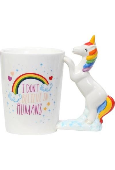 Wepools Unicorn I Don't Believe In Humans Kupa Bardak
