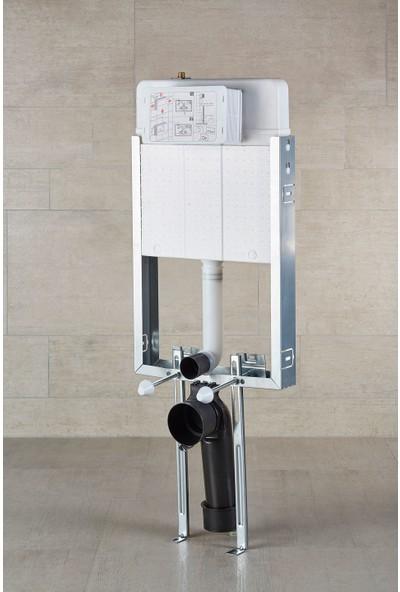 Japar Promicro 51028 Çift Kademeli Gömme Rezervuar 80 mm