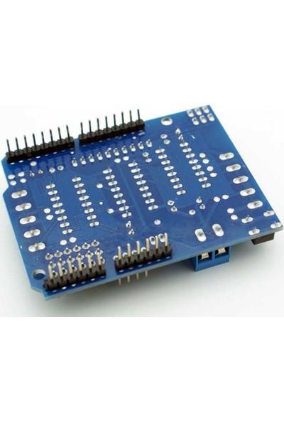 Komponentci Arduino L293D Shield Step Servo Motor Sürücü