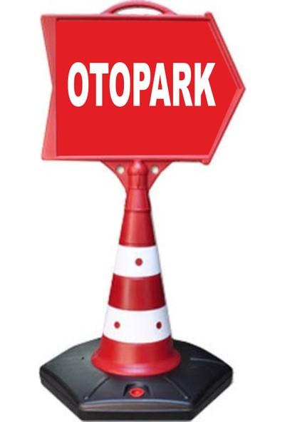 ReklamEdiyoruz Otopark Ok Yönlendirme Dubası
