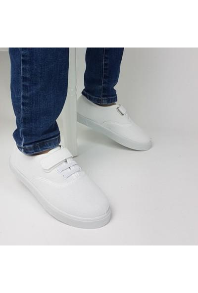 Gezer Günlük Çocuk Keten Ayakkabı Özel Malzeme Spor Ayakkabı