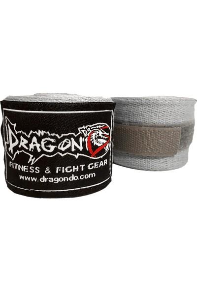 Dragon Boks, Kick Boks ve Muay Thai Bandajı 3,5 Metre Gri