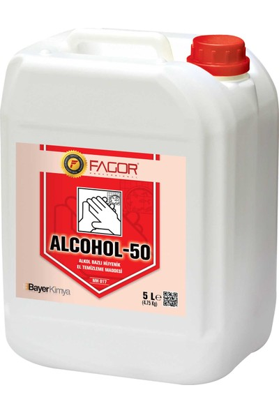 Fagor Nano Alcohol 50 Alkol Bazlı El Hijyen Maddesi