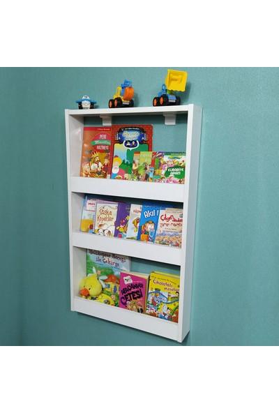 Emdief Home Montessori Kitaplık 3 Raflı