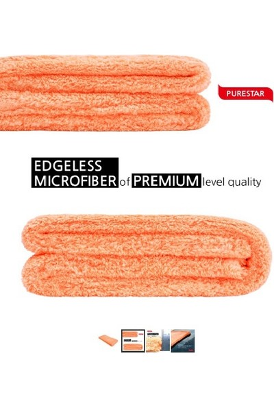 Superclean Mikrofiber Purestar Supreme Oto Kurulama Bezi 1400 Gsm 40X80 cm