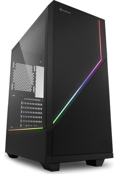 Sharkoon RGB Flow USB 3.0 ATX Mid Tower Oyuncu Bilgisayar Kasası