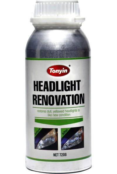 Tonyin Far Yenileme - Headlight Renovation