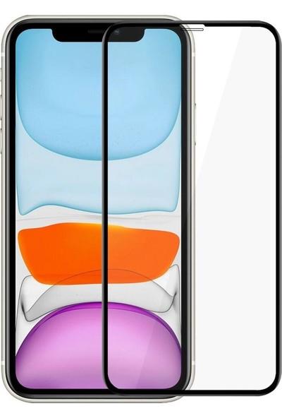Logis Apple iPhone 11 5D Tam Kaplayan Ekran Koruyucu Cam