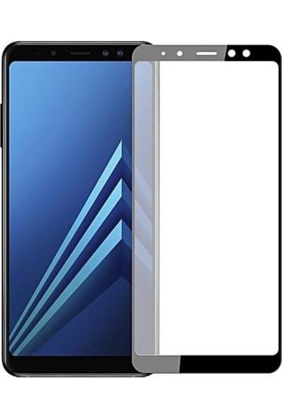 Logis Samsung Galaxy A8 Plus Tam Kaplayan 5D Ekran Koruyucu