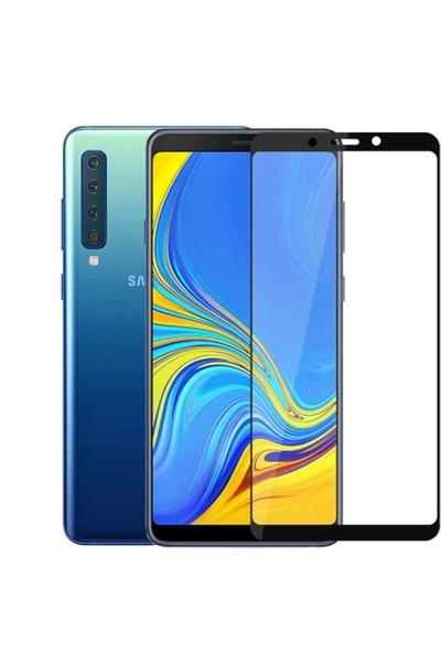 Logis Samsung Galaxy A9 2018 5D Tam Kaplayan Ekran Koruyucu Cam