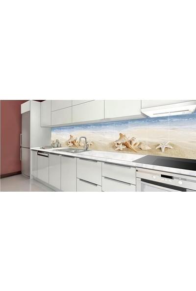 Mcm Mutfak Tezgah Arası Seramik Granit Shell Dekor Set