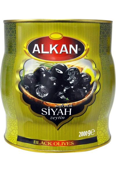 Alkan Gold Siyah Zeytin 2 kg