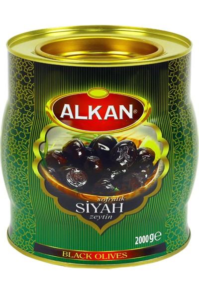 Alkan Special Gurme Siyah Zeytin 2 kg
