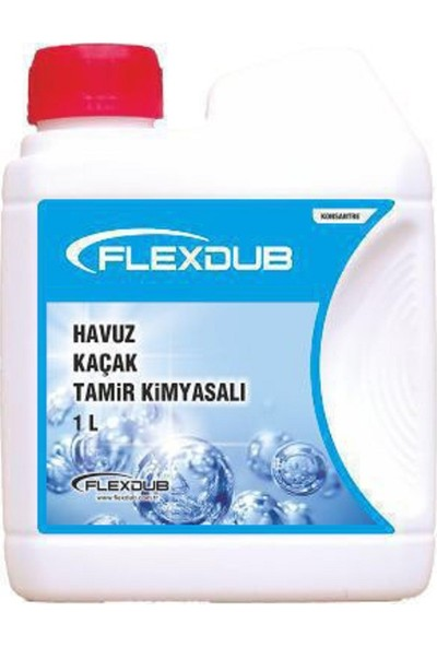 Flexdub Havuz Kaçak Tamir Kimyasalı 1 lt