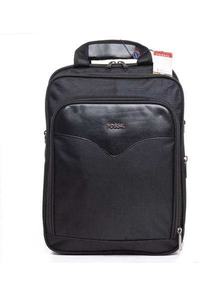 Fossil Unisex Active Slim Notebook Sırt Çantası Siyah