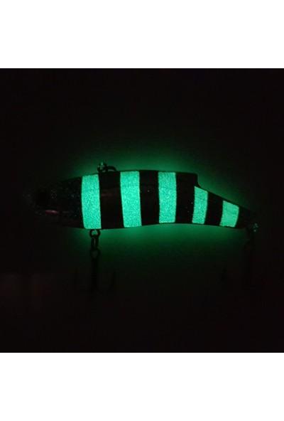 Kaptan Nemo Vib Elite C Minnow Zebra Jig Yem 9 cm 34 gr