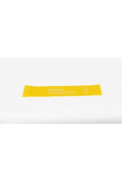 Leyaton Latex Aerobik Band 0,7 mm Orta Sarı