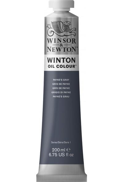 Winsor & Newton 465 32 Winton Yağlı Boya Payne's Gray 200 ml