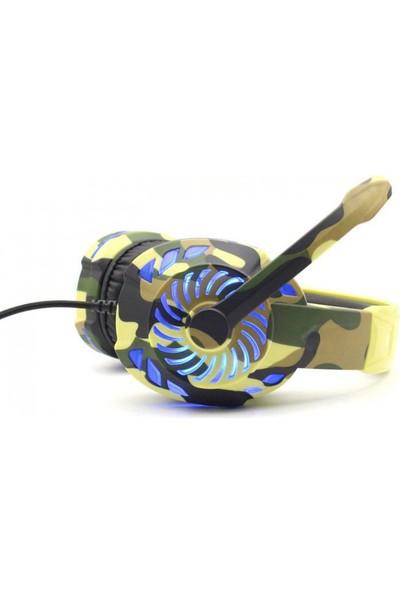 Komc G305 5.1 USB Pro Ultimate LED Oyuncu Kulaklığı