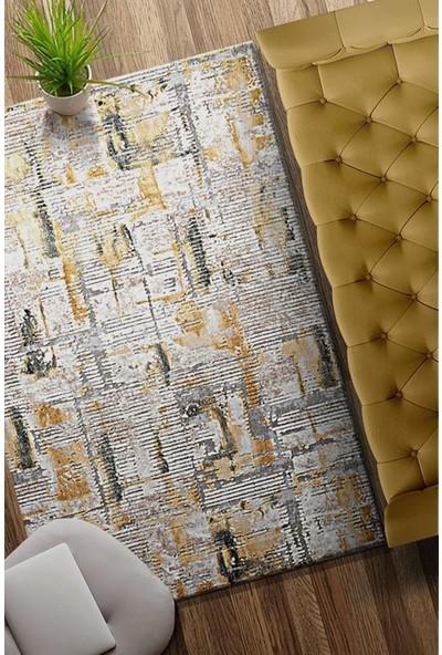 Bahariye Craft Yolluk Halı LM 8601 Bej Sarı En 100 cm 100 x 100 cm